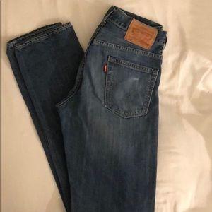 Levi's 513 Slim Fit Jeans, Size 30x34